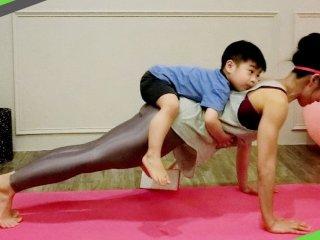 靠運動翻轉人生 筋肉媽媽的健身創業路