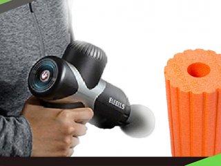 按摩槍 vs. 滾筒 - 放鬆筋膜兩大利器比較